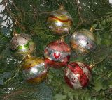Christbaumkugel 'Glossy' 6er-Set
