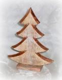 Tannenbaum aus Holz 27,5 cm-KW